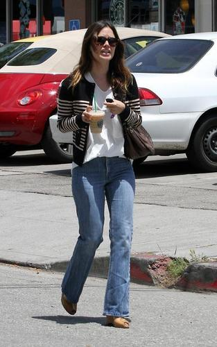 Rachel out in Hollywood