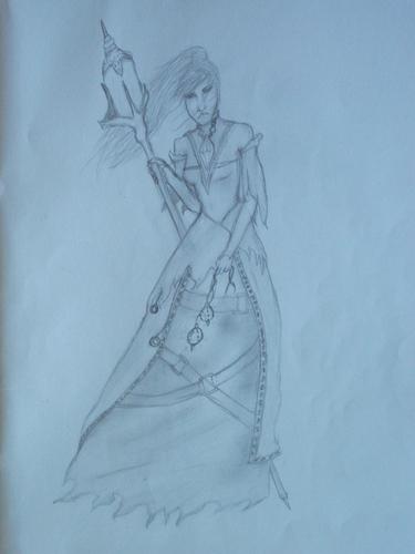 walang tiyak na layunin drawing