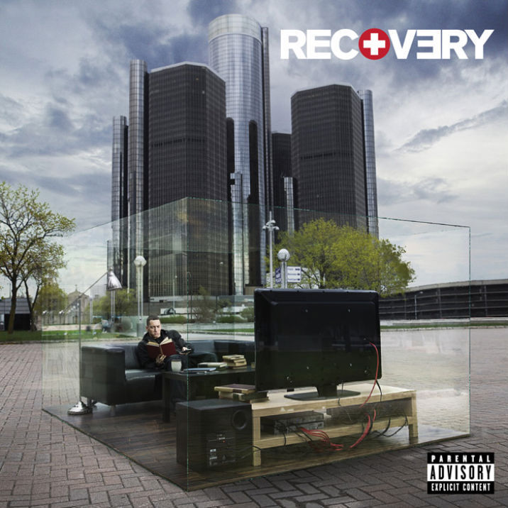 eminem recovery wallpaper. Recovery Album Cover