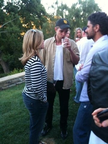 Rob At John Stamos' House