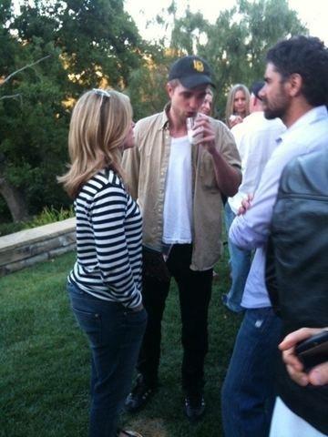 Rob At John Stamos' house