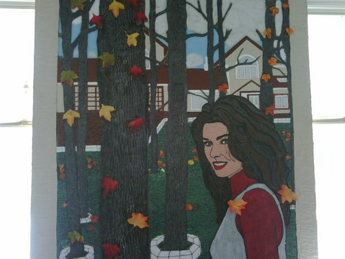 Shania Twain Hand Made portrait