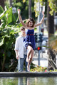 Shenae Grimes and Matt Lanter Film '90210'
