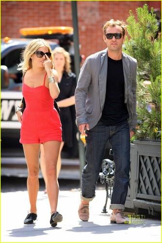 Sienna Miller & Jude Law: Pastis Pair