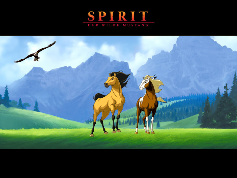 Spirit Stallion of the Cimarron
