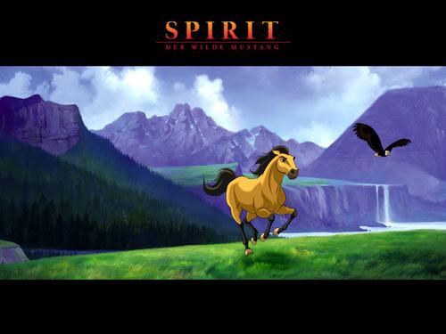 Spirit: Stallion Of The Cimarron wallpaper titled Spirit Stallion of the Cimarron
