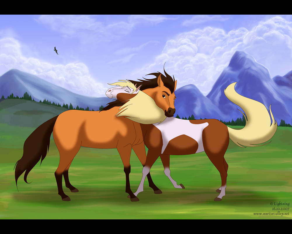 Spirit Stallion of the Cimarron - Spirit: Stallion Of The Cimarron Fan