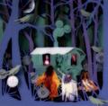 "Stevie Nicks and a variation on Helen Musselwhite's art work: ""Gypsy Caravan""  - stevie-nicks fan art"