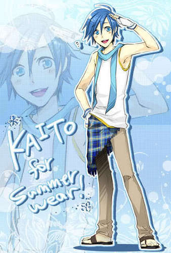 KAITO wallpaper entitled Summer wear