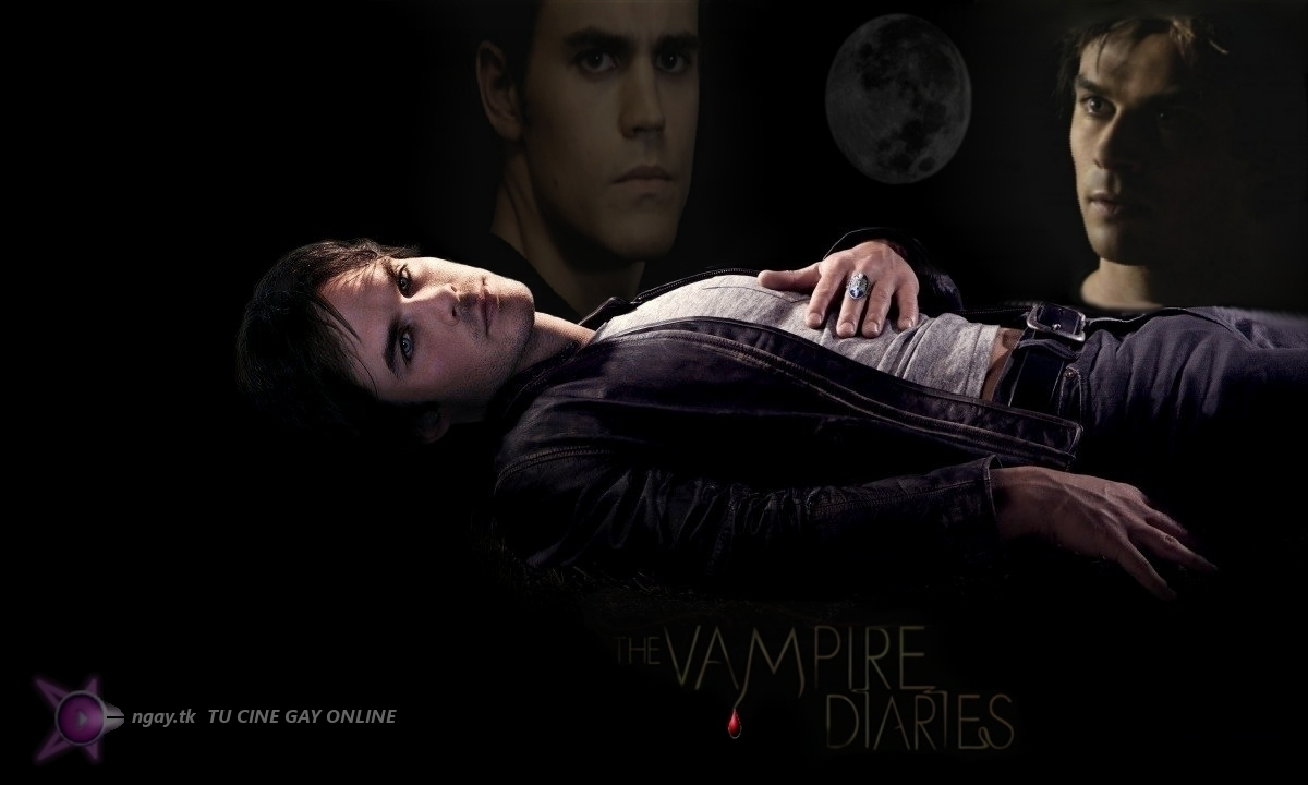 THE VAMPIRE DIARIES ONGAY TU CINE GAY ONLINE