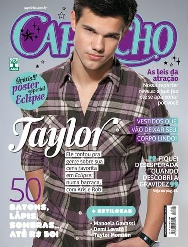 Taylor in Capricho Magazine