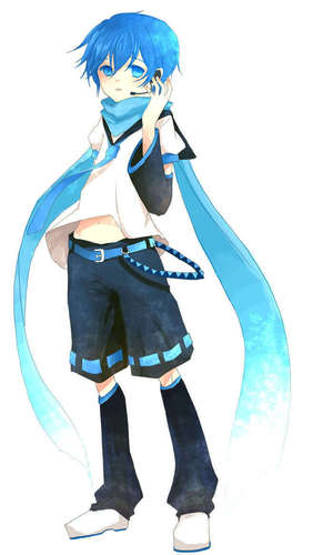 KAITO wallpaper titled The younger me...
