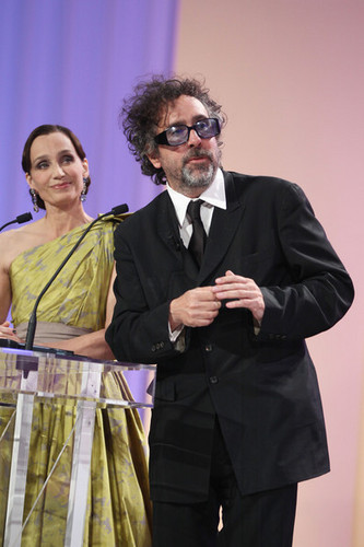 Tim バートン @ the Palme d'Or Award Ceremony @ the 63rd Cannes Film Festival