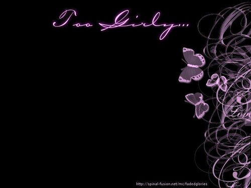 fanpop girls wallpaper called too girly v black wallpaper