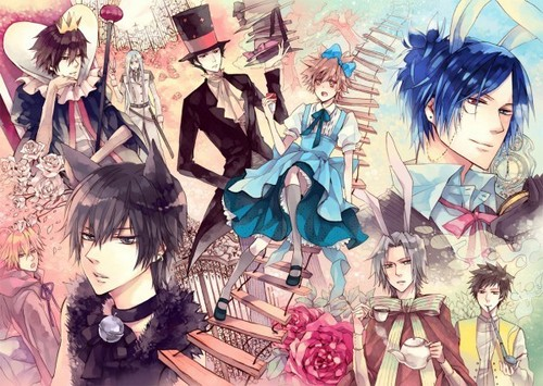 Tsuna in Wonderland