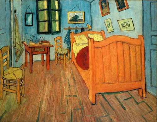 وین Gogh's Bedroom In Arles