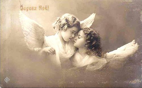 Vintage ángeles