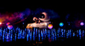 "WALL-E scene from the new ""World of Color"" show - disneyland photo"