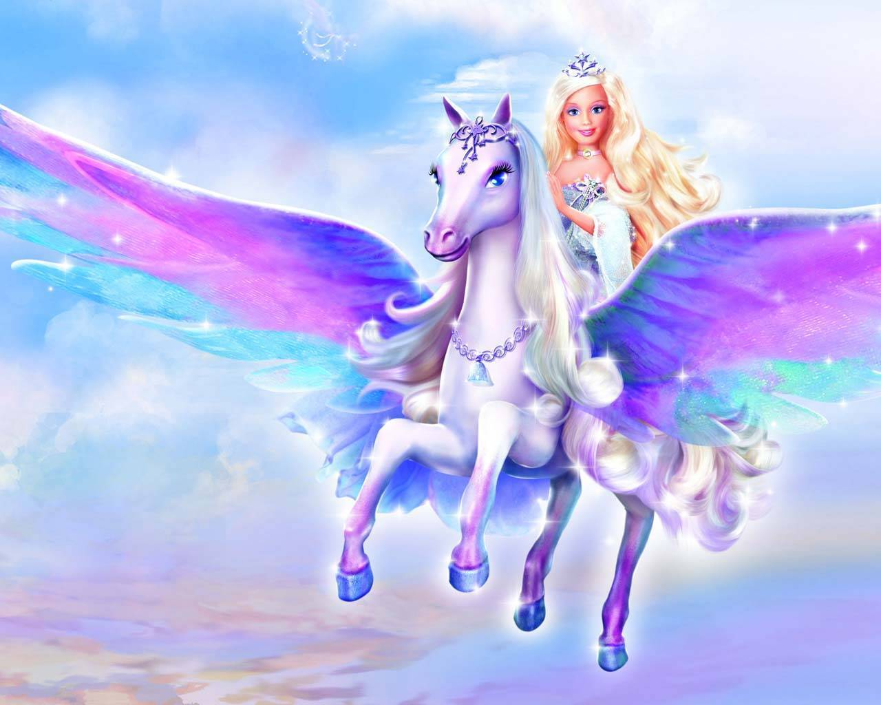 búp bê barbie magic of pegasus