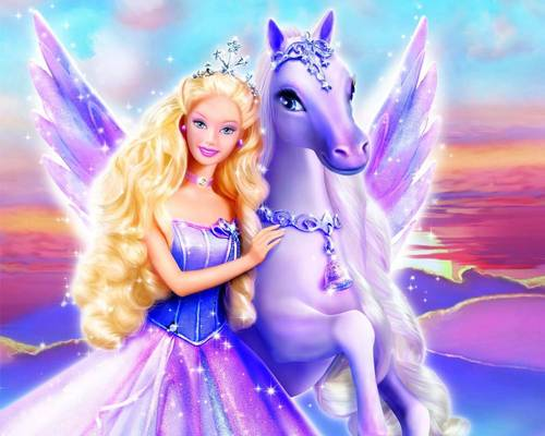 Barbie فلمیں پیپر وال called barbie magic of pegasus