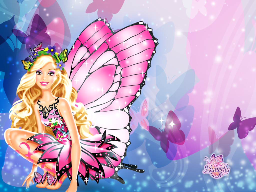 Barbie Mariposa Cartoon