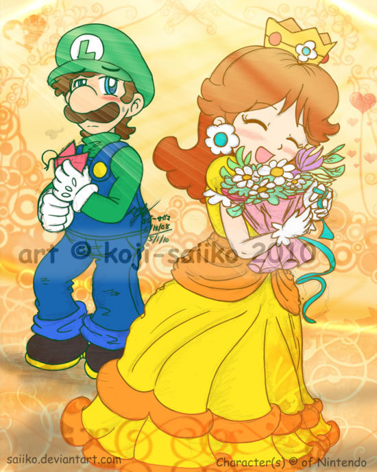 Daisy And Peach Princess Daisy Photo 12418976 Fanpop