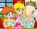 daisy and peach - princess-daisy photo