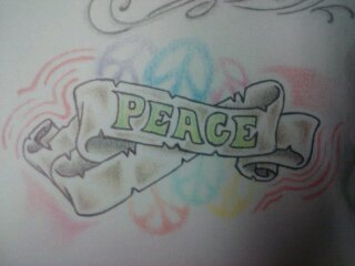 Peace Signs wallpaper titled peace banner