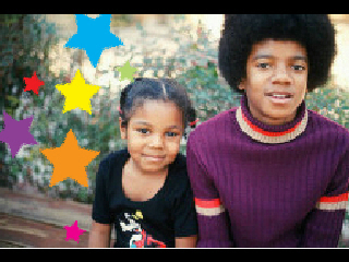 * ADORABLE MICHAEL & JANET *