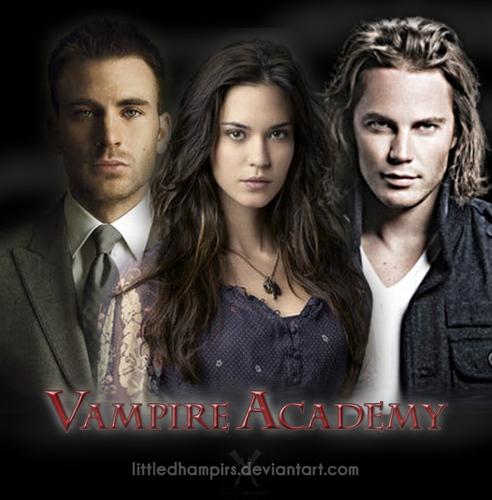 Adrian, Rose and Dimitri