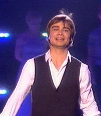 Alex at the Eurovision song Contest 2010