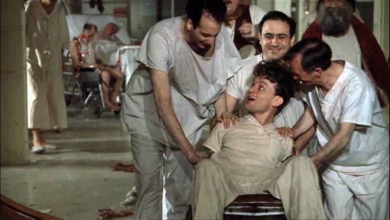 the misconceptions and malpractice in the treatment of the mentally insane in the film one flew over