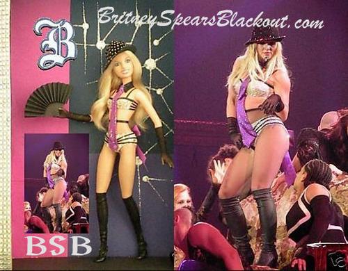 Britney like a doll