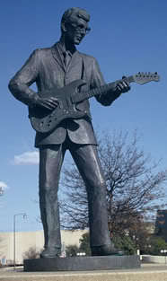 Buddy ہولی Statue