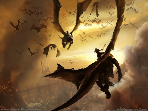 Dragons wallpaper entitled Dragon Background