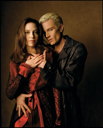 Drusilla, Spike, Angel promotional imej