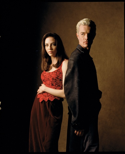 Drusilla, Spike, Angel promotional larawan