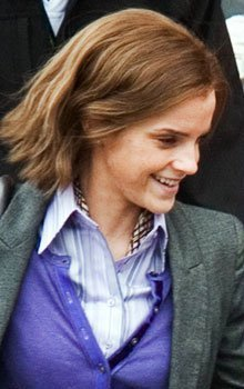 First photo of older Hermione