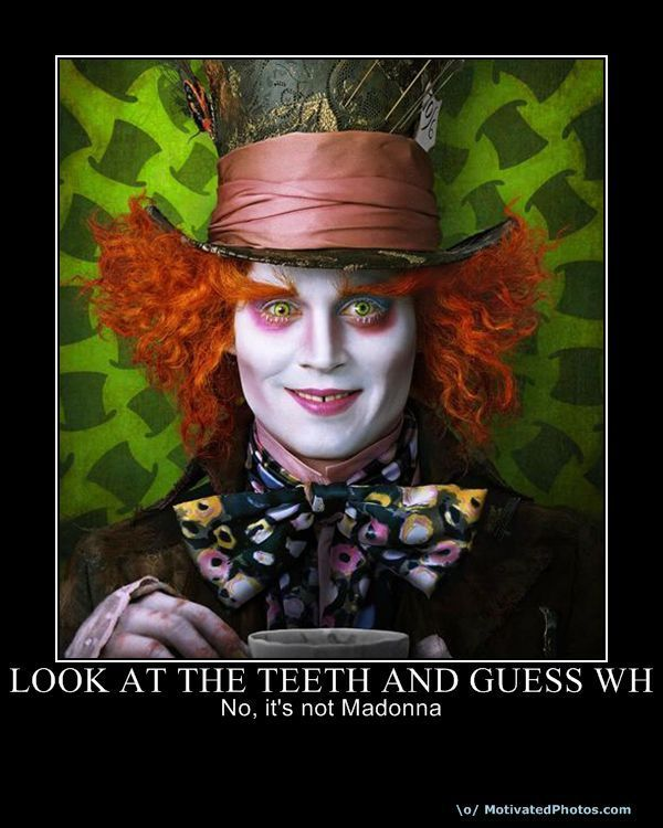 Alice in Wonderland (2010) Funny Posters