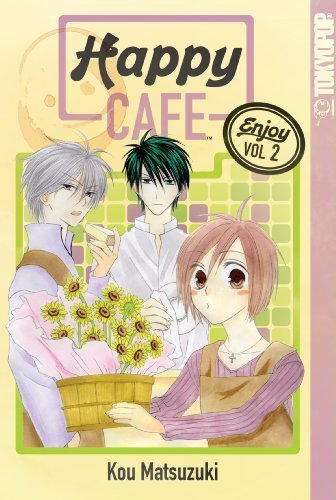 Happy Cafe Vol. 2 Cover