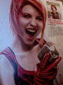 Hayley as Shirley Manson - paramore photo
