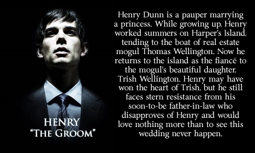 Henry:  The Groom