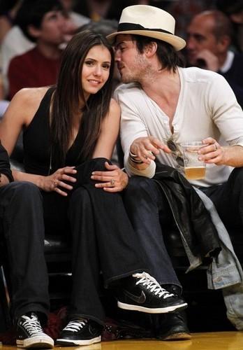 Ian & Nina - Laker Game