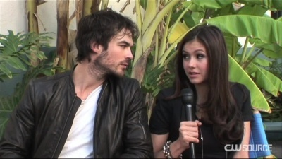 Ian & Nina's CW উৎস Interview