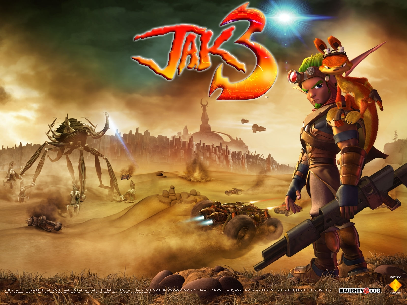 Download Jak Daxter Wallpapers: Jak And Daxter Wallpaper (12532401)