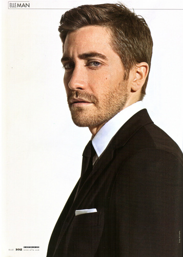 Jake in Elle Scans