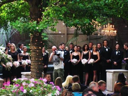 Jared at jensen wedding ceremony
