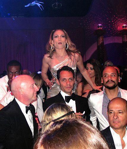 Jennifer @ Naomi Campbell Birthday Party