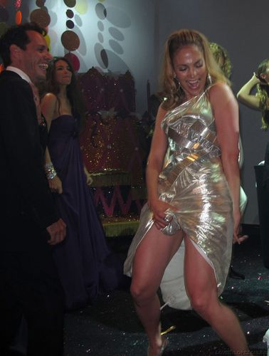 Jennifer @ Naomi Campbell Birthday Party
