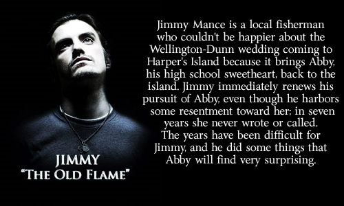 Jimmy:  The Old Flame - harpers-island Fan Art